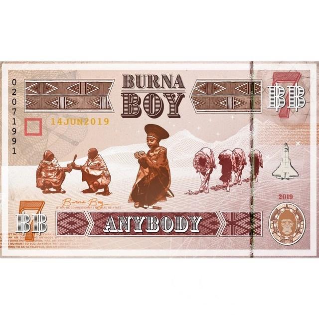 Download Anybody by Burna Boy