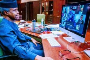 """""""Think through solutions""""- Osinbajo to Young Nigerians"""