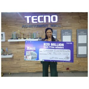 How TECNO's Blue Christmas Changed People's life Forever
