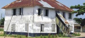 first storey building in Nigeria.