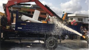 Update - Opebi Helicopter Crash Kills Two, Injures One [Videos and Pictures]