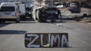 South Africa Zuma Riots: