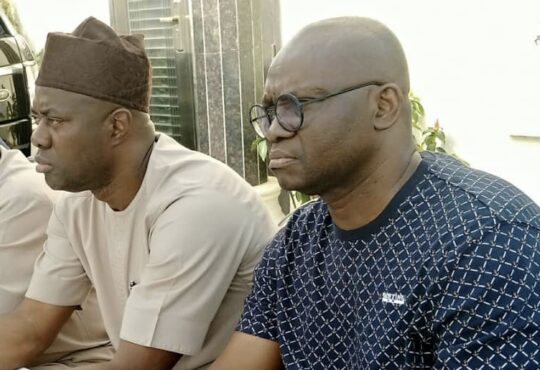 Fayose: I Respect Seyi Makinde As A Governor But I Am His Father Politically