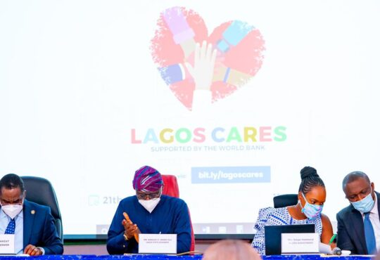 """Sanwo-Olu Launches $20 Million """"Lagos Cares"""" Programme For Youths, Women"""