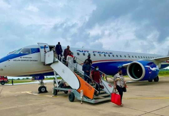 Air Peace commences flight operations to Ibadan, as airline gets royal welcome