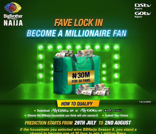 Nigerians To Get 1 Million Naira Each By Watching BBNaija, See How