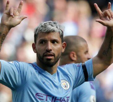 EPL: Manchester City announce Sergio Aguero's exit