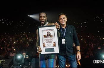 Burna boy sells out SSE Arena