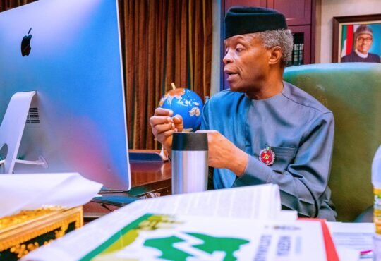 6 Years after, Nigerians salute Osinbajo's stewardship. FG plans to lift 20million Nigerians out of poverty - Osinbajo