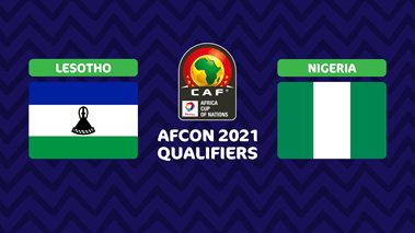 Lesotho vs Nigeria