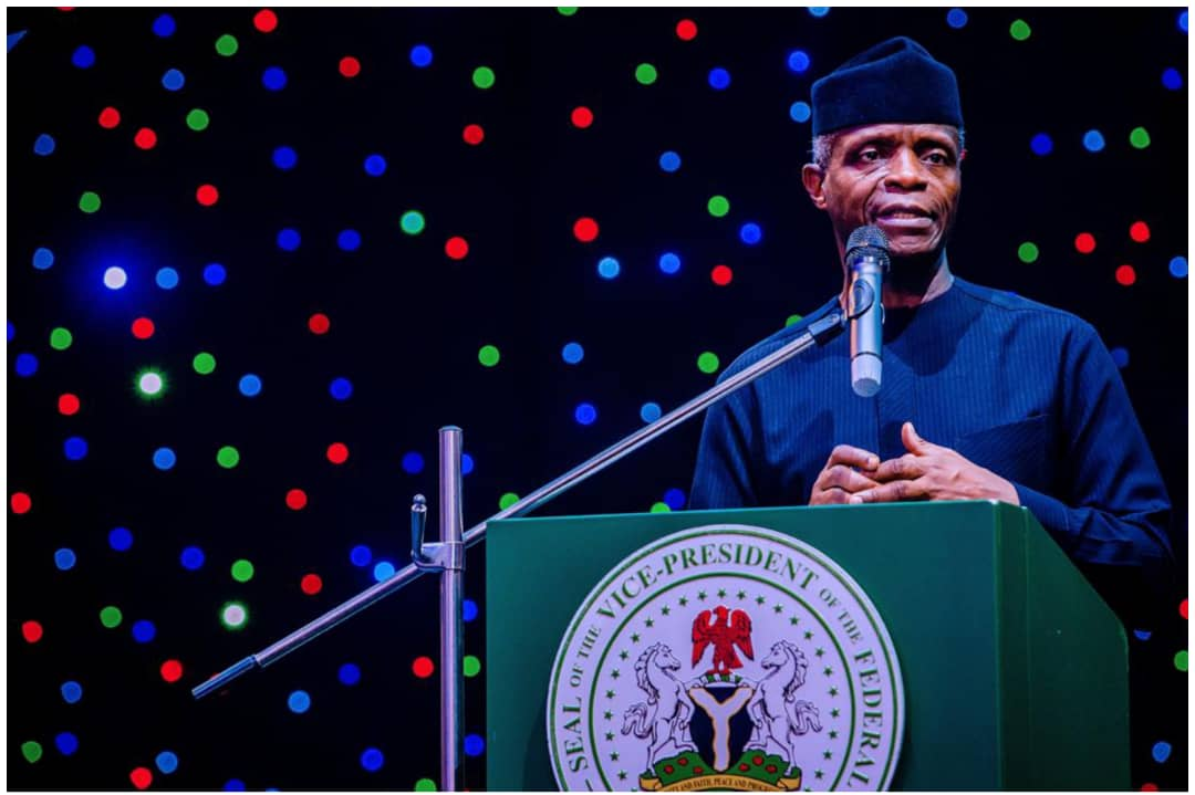 Why we were not sharing slots under the government's SIPs - Osinbajo