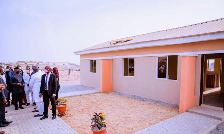 1.5M families to benefit from Social Housing Scheme __Osinbajo
