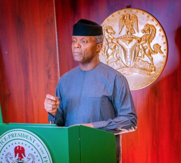 Osinbajo Bemoans Lack of Fairness in Vaccine Distribution, Advocates Fairer Cooperation