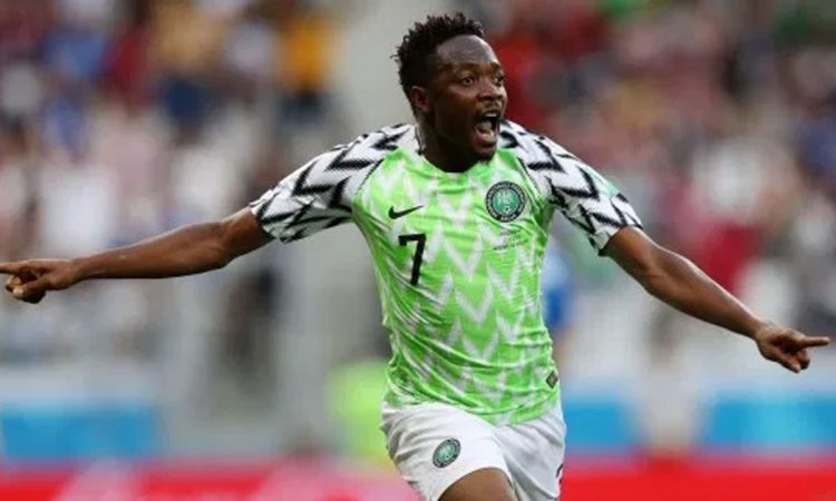 Ahmed Musa To Get ₦10 Million For Reaching 100 Caps