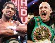 Anthony Joshua And Tyson Fury In War Of Words