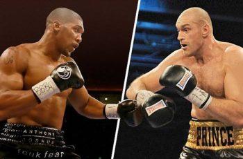 Anthony Joshua vs Tyson Fury Fight