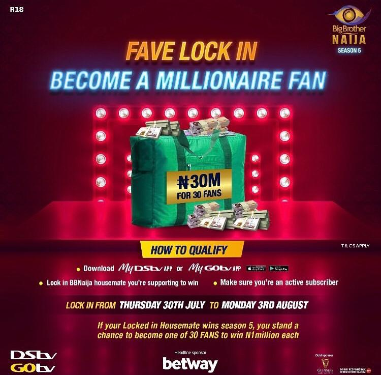 How to Win 1 Million Naira as Fan in BBNaija 2020