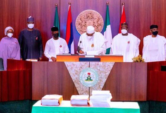 Nigeria 2021 Budget - President Buhari signs N13, 588trn 2021 Budget