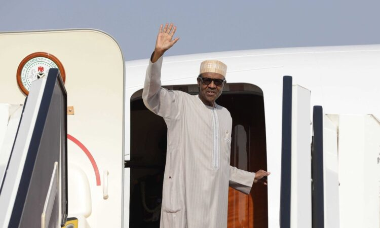 BREAKING: Buhari goes to UK for medical check-up