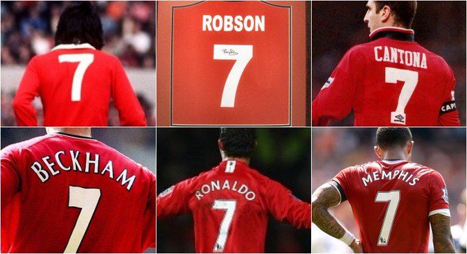 Is Manchester United NO.7 Shirt Cursed?