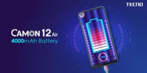 Camon 12 Air with Dot-In Display is pretty and with HUGE battery!