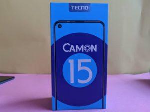 TECNO Camon 15 Unboxing