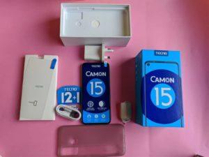 TECNO Camon 15 box