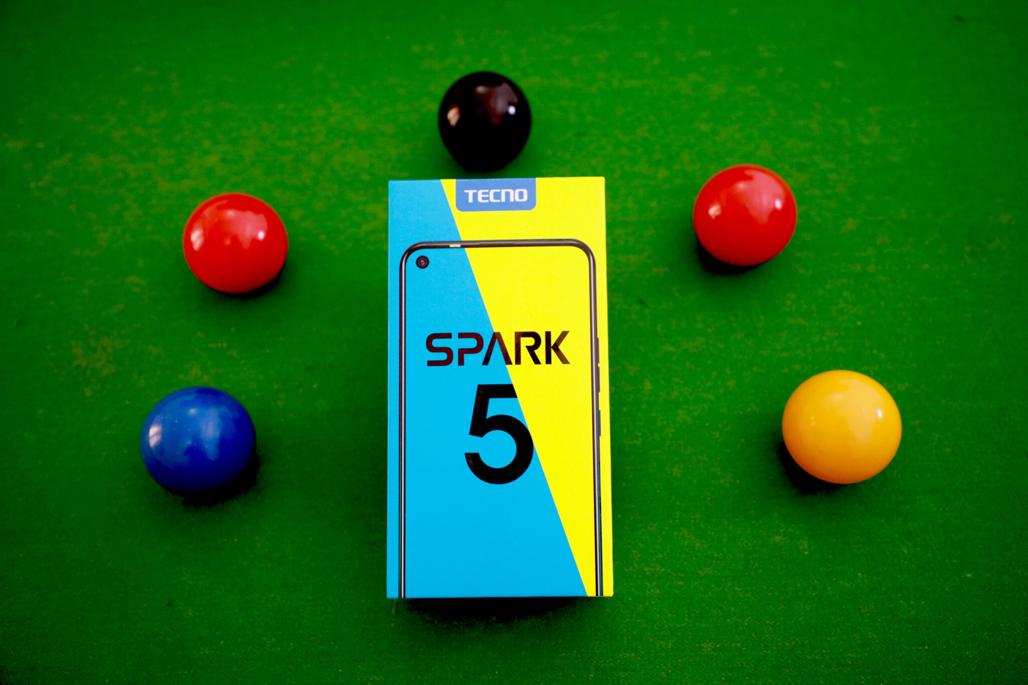 TECNO Spark 5 Key Features: Five Camera, More Angle