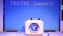 Camon 15 Launch