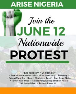 31 States Confirmed For June 12 Nationwide Protests
