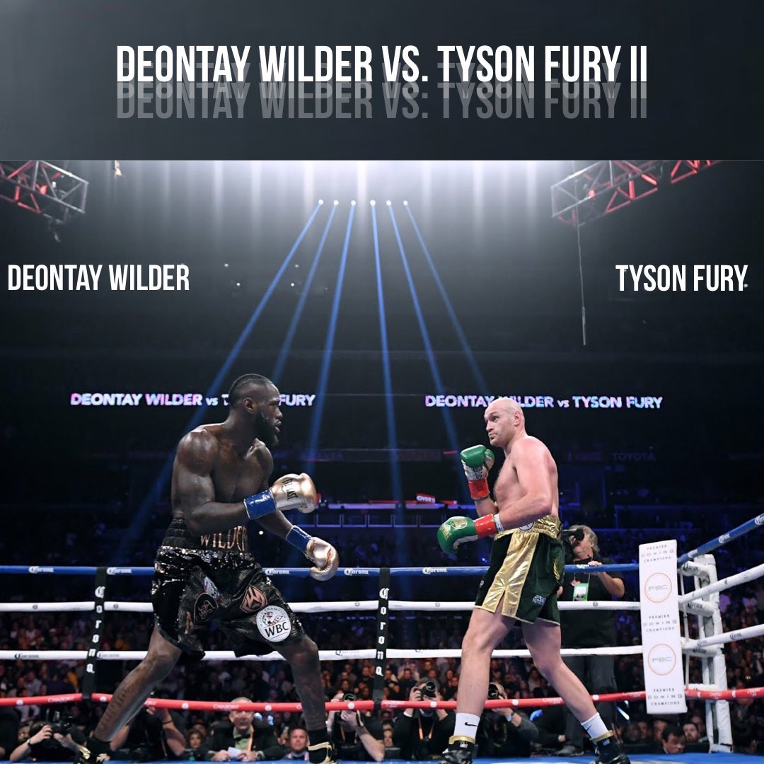 How to watch Deontay Wilder vs Tyson Fury 2 fight in Nigeria and UK