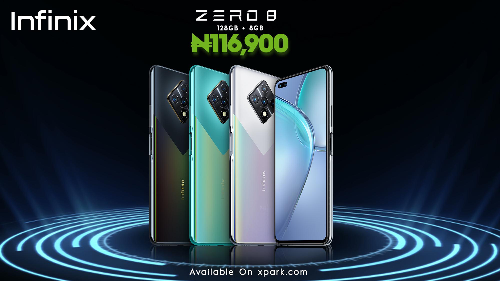 Infinix Zero 8 Specs and Price in Nigeria