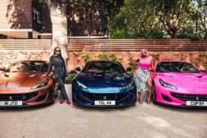 Femi Otedola buys 3 Ferraris for his 3 daughters