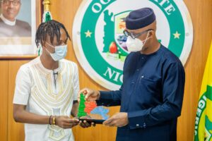 Laycon appointed Ogun State Youth Ambassador [Pictures & Video]