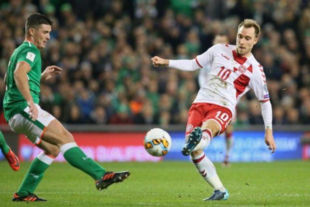 Eriksen's hat-trick thwarted Ireland's World cup dream
