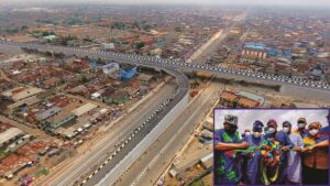 Traffic Relief In Agege, As Sanwo-Olu Commissions Pen Cinema Flyover [Pictures]
