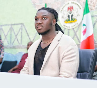 Nigerian Idol: Ortom decorates Francis Atela youth ambassador