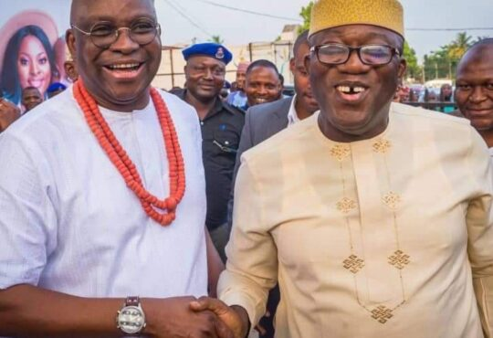 Fayose: APC, PDP Leaders Meet In Secret, Pretend As Enemies In Public