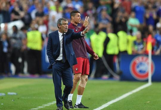 Portugal coach, Fernando Santos offers Ronaldo advice on his future
