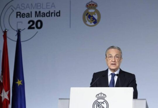 Florentino Perez re-elected Real Madrid president without opponents