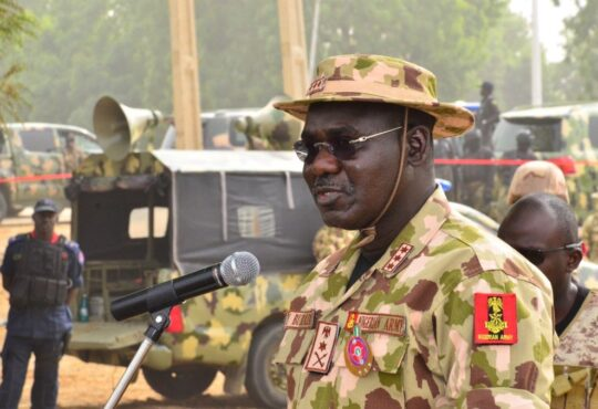 End SARS: No one was killed at Lekki toll gate – Gen Buratai