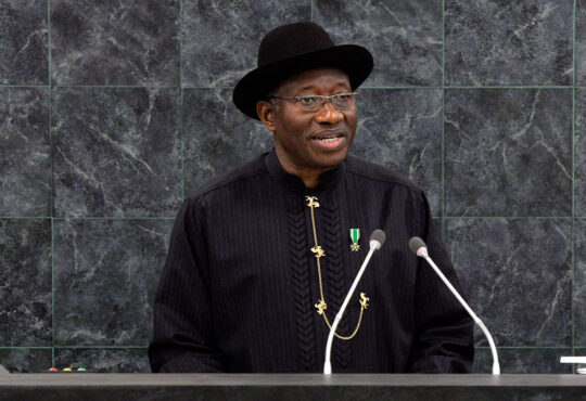 Restructuring alone can't solve all our problems, says Goodluck Jonathan