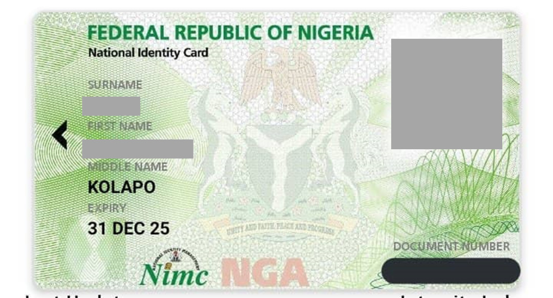 National Identity Card App - In this post, naijmobile.com will be showing you how to get your national identity card in Nigeria with your iPhone.