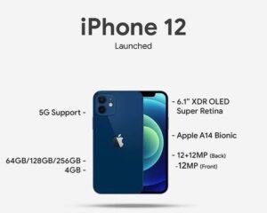 iPhone 12 Specs and Price in Nigeria
