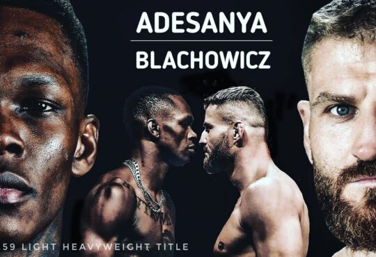 Israel Adesanya vs Jan Blachowicz