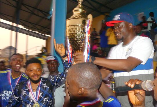 Ughelli All Stars wins Oke Umurhohwo maiden football tournament