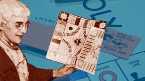 "Monopoly Board Game - by Elizabeth ""Lizzie"" Magie"