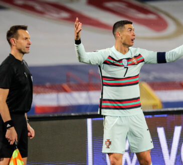 Referee apologises for disallowing Ronaldo's goal against Serbia