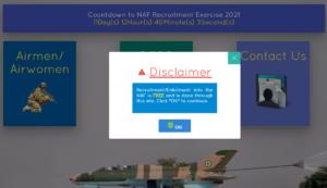 Nigerian AirForce Recruitment 2021 - Follow These Steps To Apply for Airmen/Airwomen Recruitment (BMTC 2021)
