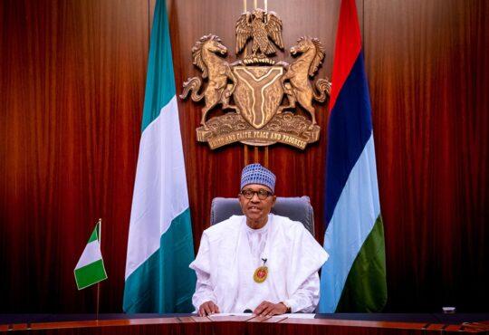 New Year Message of President Muhammadu Buhari